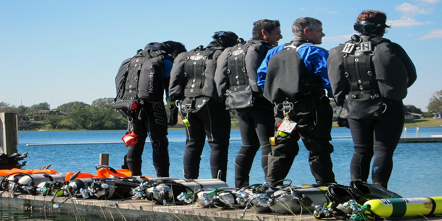 Tec Sidemount Instructor course at EASE
