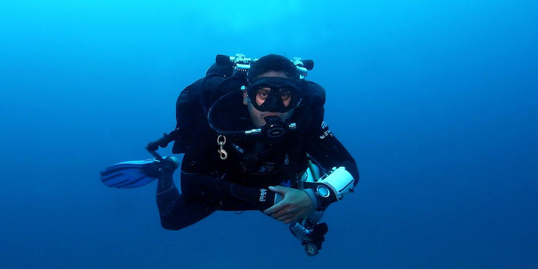 Tec 40 diver training